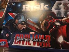 MARVEL Captain America Civil War Edition RISK Board Game  * Hasbro New