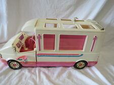 Vintage 90's Barbie Golden Dream Motor Home w/ Acces As Is Great Gift! BXD 1.3