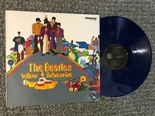 The Beatles Lp Yellow Submarine  Mono N. M Colored Blue Vinyl  Japan Press Rare
