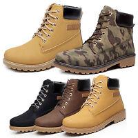 Herren Waterproof High Top Boots Schuhe Stiefel Stiefeletten  Kampfstiefel  DE
