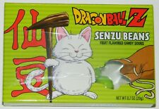 Dragon Ball Z DBZ Anime Senzu Beans Candy Sours In Illustrated Box NEW SEALED