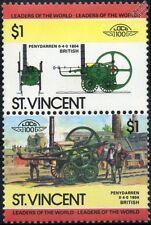 1804 Penydarren Ironworks (Richard Trevithick) Steam Train Stamps / LOCO 100