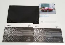 2016 Buick Encore Owners Manual User Guide V4 1 4l Premium Leather Sport Oem Set