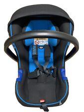 BMW Baby Seat 0+ Kindersitz mit Isofix blau schwarz verstellbar