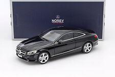 Mercedes-Benz S-Klasse Coupe Baujahr 2014 schwarz 1:18 Norev