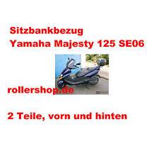 Sitzbank-Bezug DUNKELBRAUN für Yamaha Majesty 125  ab Bj.2000 , Typ SE06