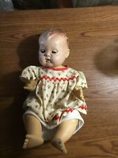 Vintage American Character Molded Hair Baby Doll 1950's 13�