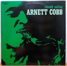 ARNETT COBB ~ SMOOTH SAILING LP 1988 RE-ISSUE (OJC-323, P-7184) JAZZ CLEAN NM!!