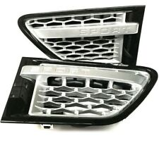 Range Rover Sport 05-10 - HAWKE Autobiography Black Side Vents & Silver Mesh/Bar