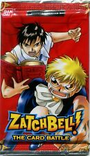 New & Sealed Zatch Bell 9 Card Booster Pack TCG CCG Red