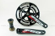 FSA Energy Compact Crank 172.5mm 52/39T N10 Road Bike triple Crankset MegaExo BB