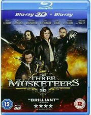 The Three Musketeers (Blu-ray, 2012) excellent Condition. 3D Disc not included