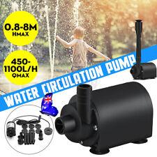 8m 50W Solar Power Fountain Water Pump Outdoor Irrigation Home Garden Pool