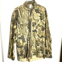Tall Timber Camouflage Hunting Shirt Mens XL Cotton