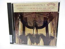 CD - Great European Organs No. 1 Stephen Cleobury King's College Cambridge 1986