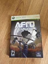 Afro Samurai Xbox 360 Complete With Sleeve Good Cib Sik Game SB1