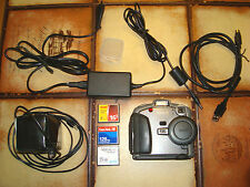 Kodak DC 260 Digital Science 100-220v/7-8v USB Accupack 3x Card, vintage/collector