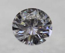 0.40 Carat E Color Round Brilliant Enhanced Natural Loose Diamond For Ring 4.65m