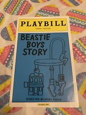 Rare Collectible Beastie Boys Story Playbill Memorabilia Tower Theater Philly