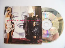 TRANSVISION VAMP The Only One – original 1989 CD Card Sleeve – Pop Rock – RARE!