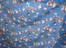 P KAUFMANN FABRIC ~ RABBITS / BUNNIES CATS DOGS ~ UPHOLSTERY / CURTAINS *BTY