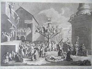 William Hogarth, Emblematic Print on the South Sea Bubble. Engraving