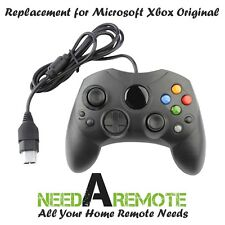 Replacement Game Controller For Xbox Original Black S-Type Brand New 3Z