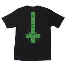 Creature Horde Cross Skateboard T Shirt Black Xl