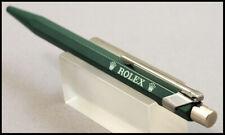 ROLEX ♛♛ RARE BALLPOINT PEN SWISS MADE CARAN D'ACHE DEALER'S GREEN COLLECTIBLE