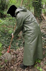 Regenmantel PVC Gummi Rubber Mantel Raincoat Friesennerz Ölzeug