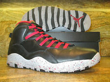 Nike Air Jordan 10 X Retro Promo Sample SZ 11 PSNY Black Public School FNF PE