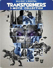 Transformers: 5 Movie Collection (6 Disc) BLU-RAY