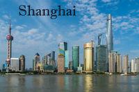 Shanghai China fridge magnet travel souvenir Fridge Magnet