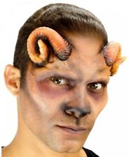 Ram 1/2 Face Foam Latex Mask Woochie Professional Prosthetic Adult Size