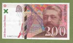 Billet FRANCE : 200 francs EIFFEL de 1997