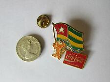 Seúl Olimpiadas 1988 hodori Con Bandera Original Coca Cola De Metal Pin Insignia