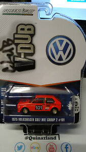 Greenlight V-Dub 1975 Volkswagen Golf MK1 Group 2 #101 (NG129)