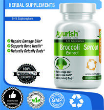 Broccoli Sprout Extract Improves sugar 500 mg 0.4% Sulphoraphane 300 capsules