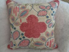 """NEW LISTING.BLOOMSBURY BY CLARKE & CLARKE 22"""" CUSHION COVER,STUNNING DESIGN"""
