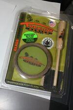 Vintage Turkline Cody Glass Friction Turkey Call Striker Original Package W/ CD