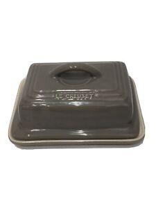 Le Creuset Gris Ceramic Butter Dish