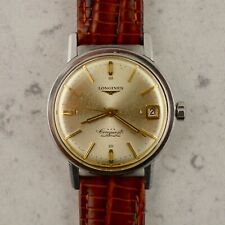 C.1958 Vintage Longines Conquest Automatic watch ref.9035 cal. 292 in steel