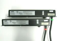 LOT of 2 APC AP9571 208V 12-Outlet Basic Rack PDU 46-5