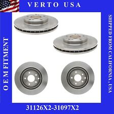 Complete Front & Rear Brake Rotors Fit Nissan 300ZX 1991-1992-1993-1994-1995-96