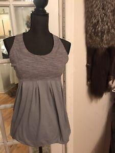 Lululemon Tank Top Size 10 Gray