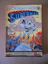 SUPERMAN n°1 1976 edizioni Cenisio [G756] BUONO senza adesivi