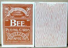 1 deck Bee Erdnase #216 PLAYING CARD brown-S1021998515-左