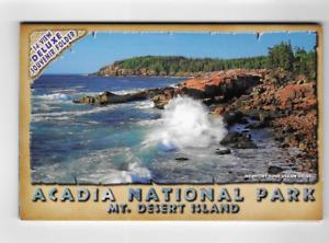 POSTCARD FOLDER-ACADIA NATIONAL PARK-MT. DESERT ISLAND