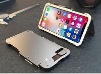 Iron Man Edelstahl Gehäuse Metall Schutz Hülle Outdoor Case f iPhone 11 Pro Max