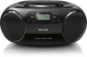 PHILIPS AZ B500 CD SOUNDMACHINE PORTABLE DAB DAB+ & FM RADIO CD PLAYER BOOMBOX